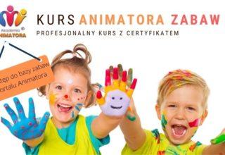 Kurs Animatora Zabaw dla Dzieci