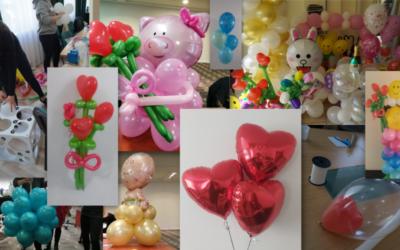Kurs Balonowe Dekoracje + materiały !