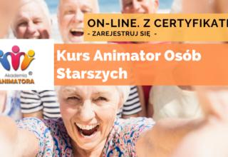Kurs Animator Seniora – Animator Osób Starszych